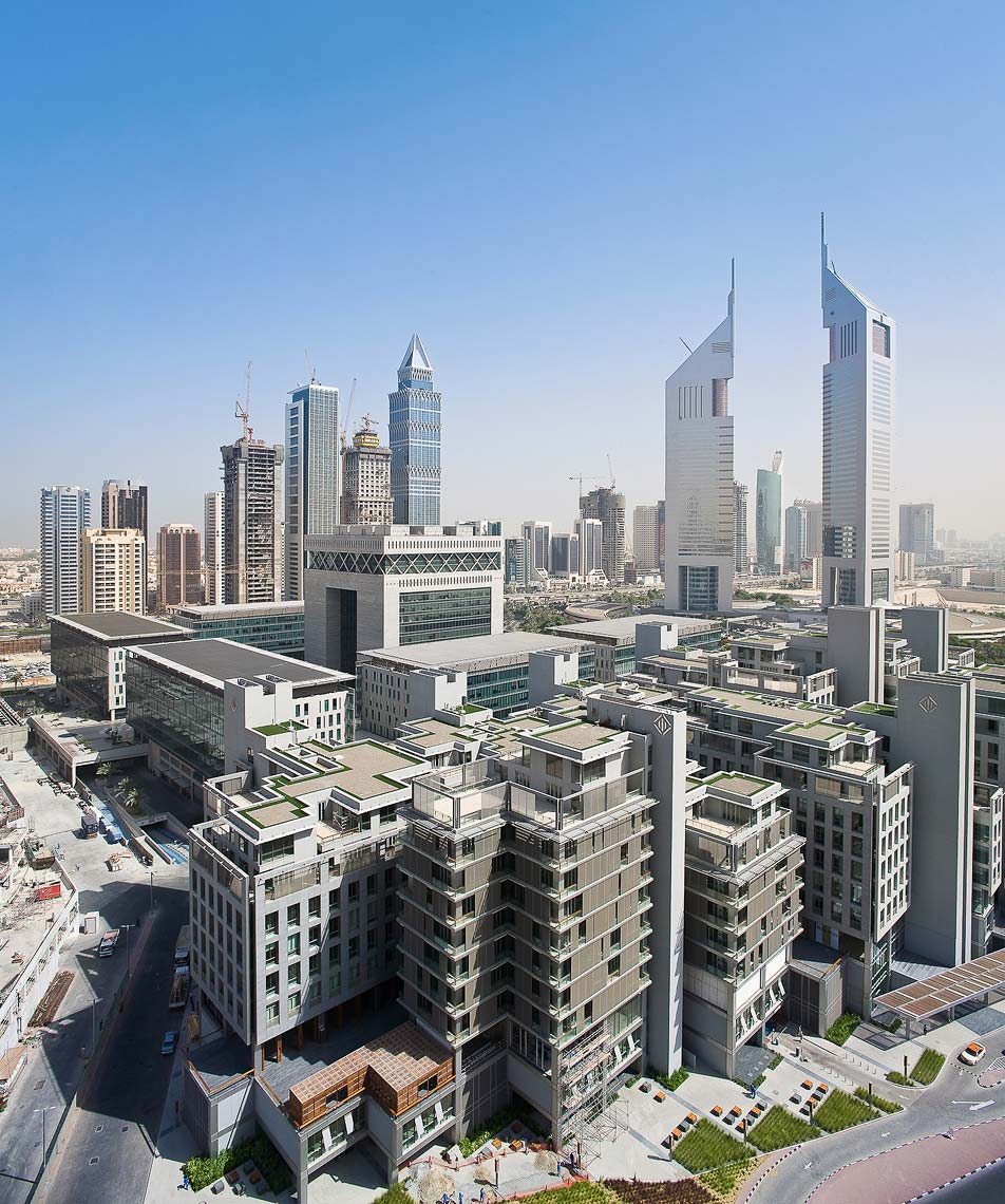 DIFC, Dubai, UAE. Architectural photographer Asia