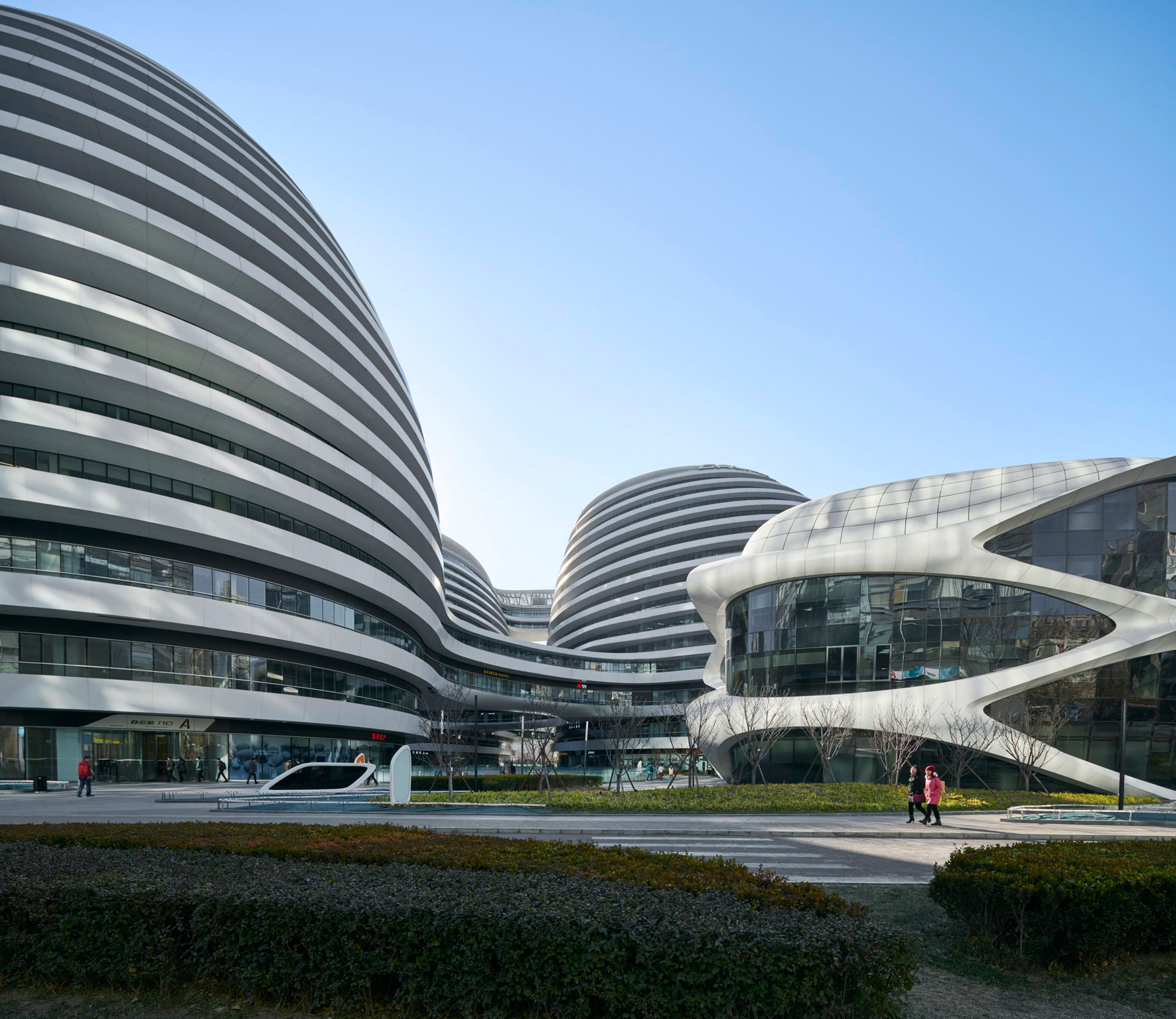 Galaxy Soho Beijing, China. Architectural photographer Asia