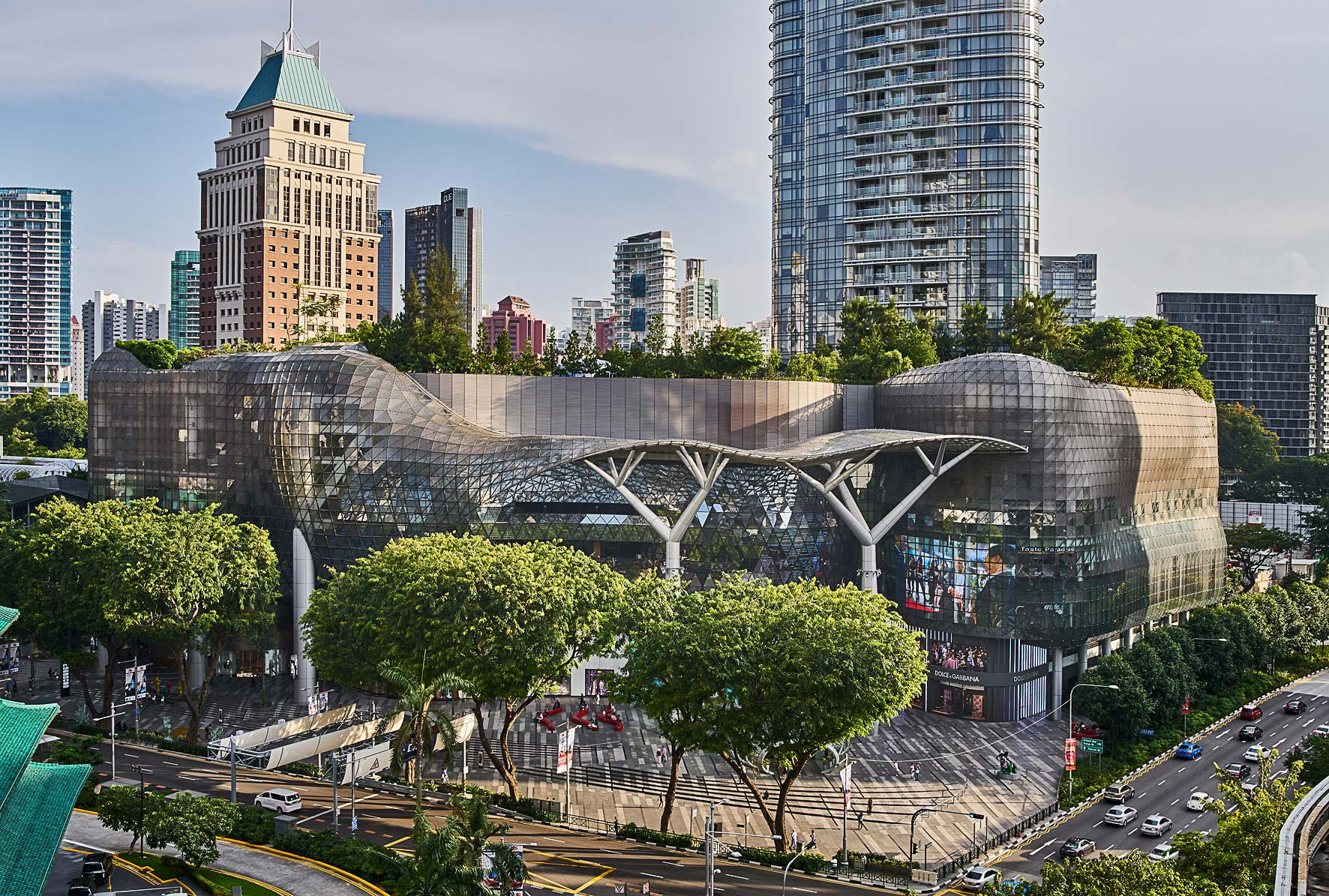 Ion Orchard Singapore. Architectural photographer Asia