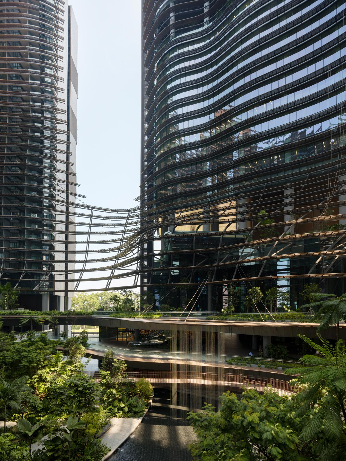Owen Raggett, architectural photographer, Singapore. Marina One, Singapore.