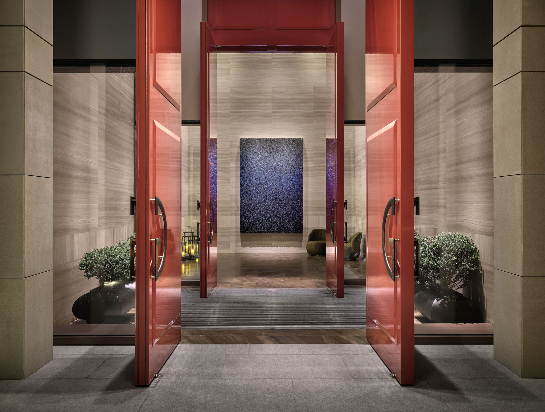 Rosewood Hotel Guangzhou, China. Architectural photographer Asia