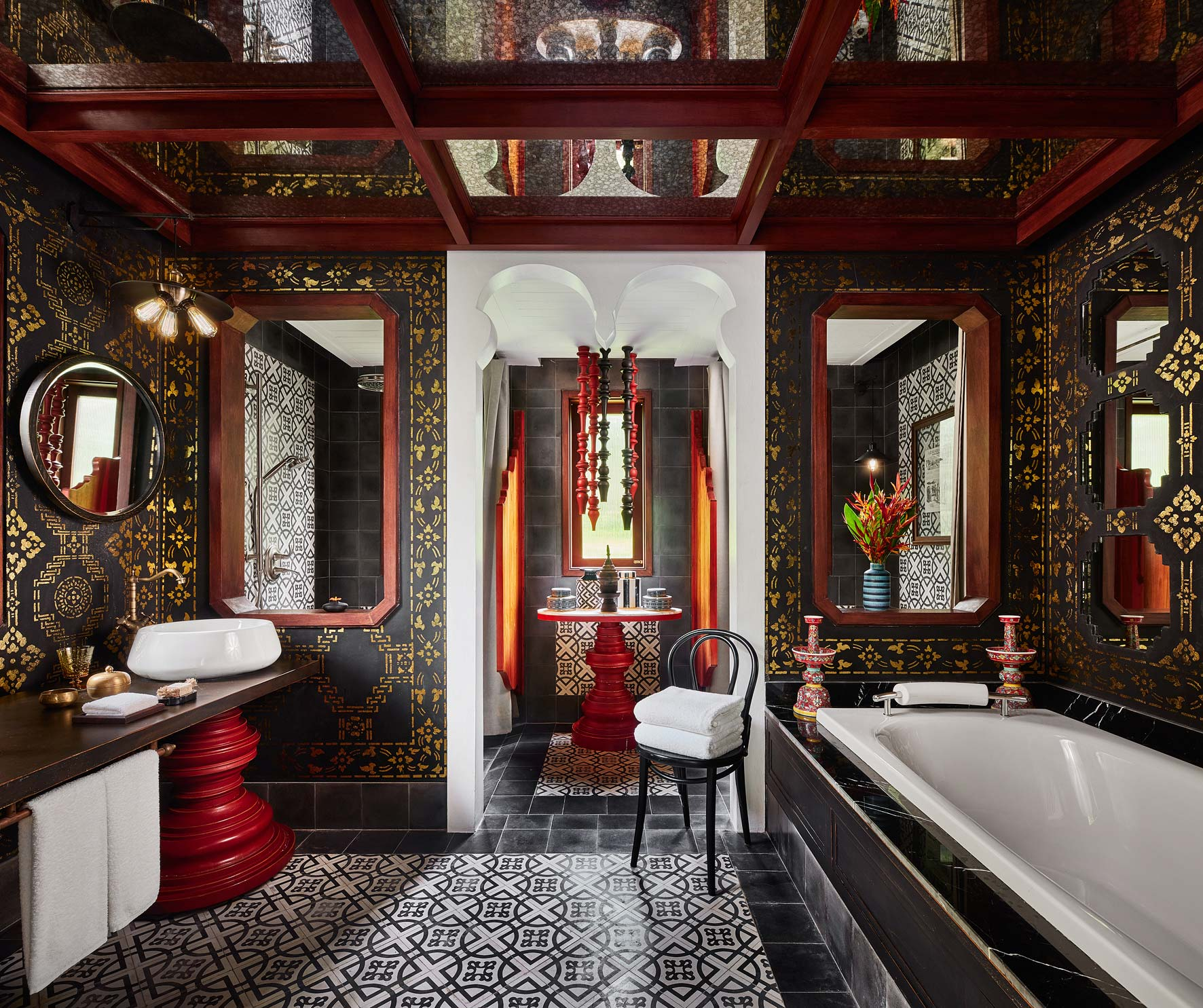 Owen Raggett,  architectural photographer Singapore. Rosewood Hotel, Luang Prabang, Laos. Architectural photographer Asia