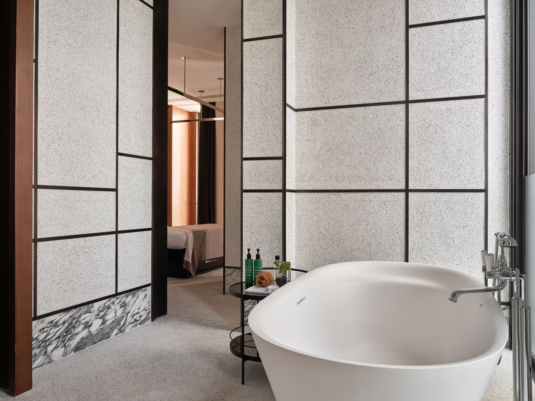 Rosewood Hotel Hong Kong Spa. Architectural photographer Asia.