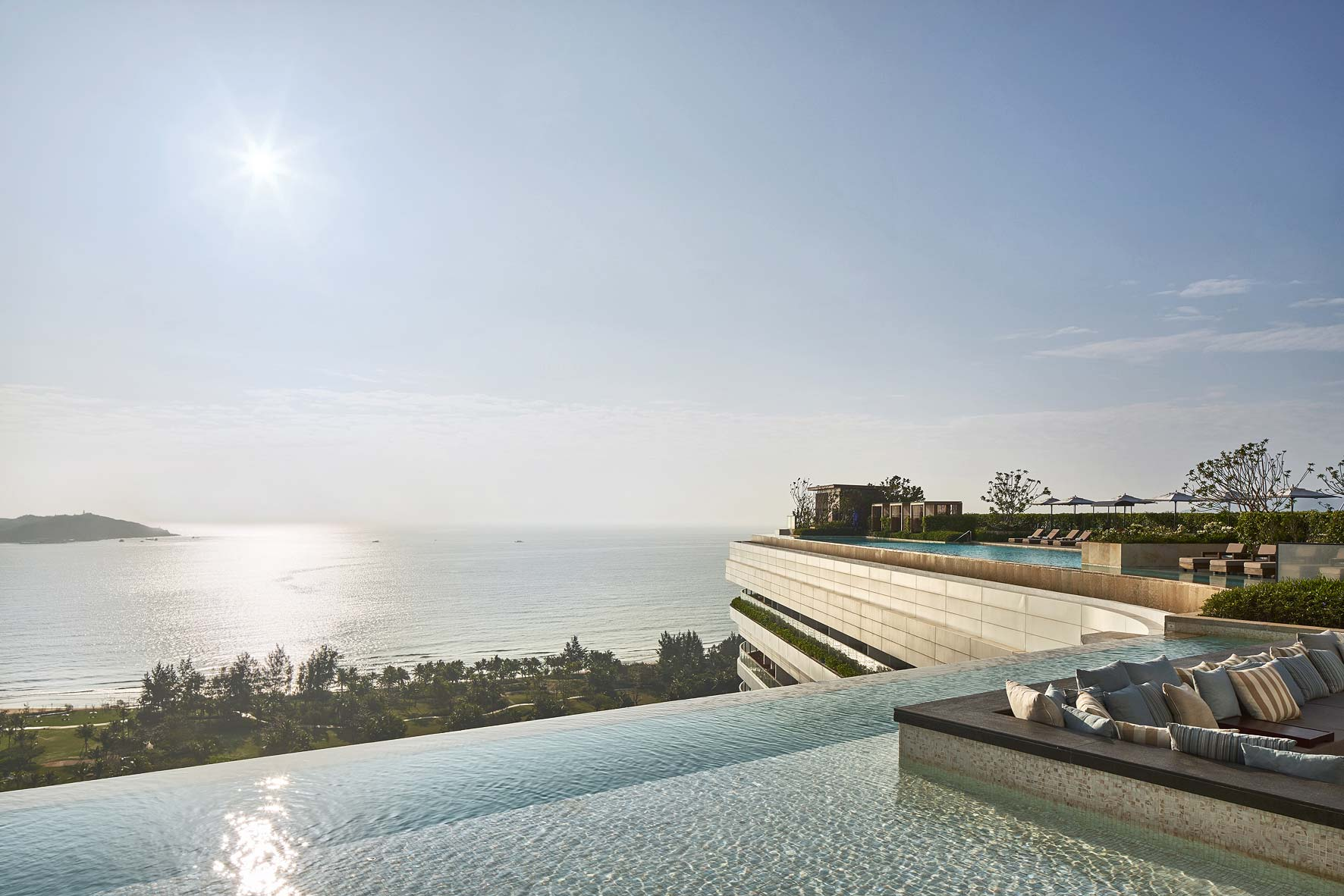 Rosewood Hotel Sanya China. Architectural photographer Asia