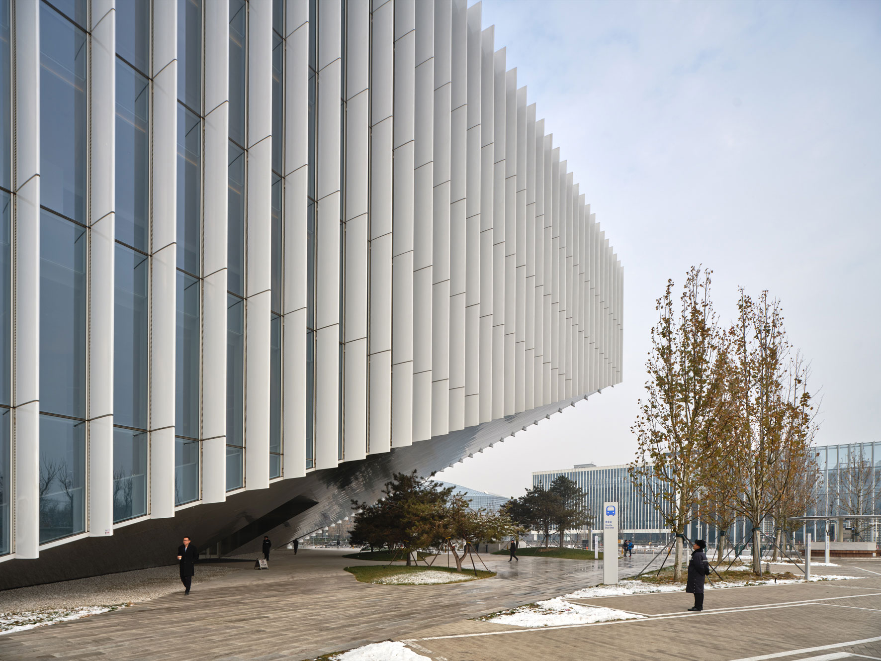Tencent Beijing, China. OMA. Owen Raggett, Architectural photographer Singapore