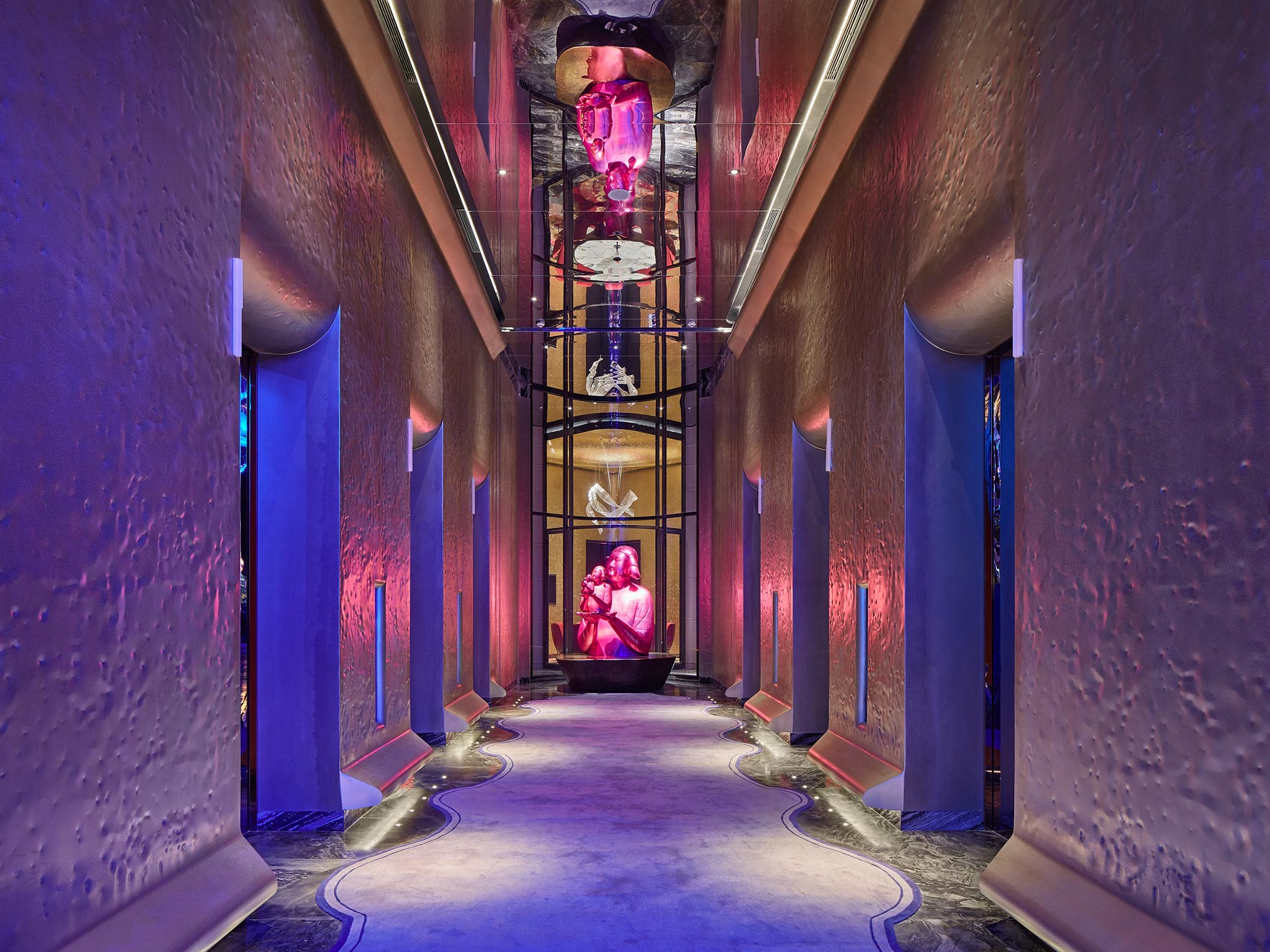 W Hotel Xian, China. Architectural photographer Singapore